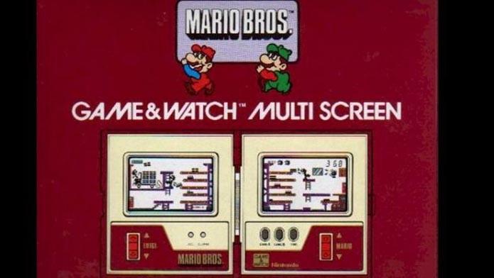 Luigi estampava a capa de game para Game & Watch (Foto: Reprodução)
