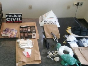 Material foi apreendido durante operação conjunta (Foto: Polícia Civil/ Divulgação)