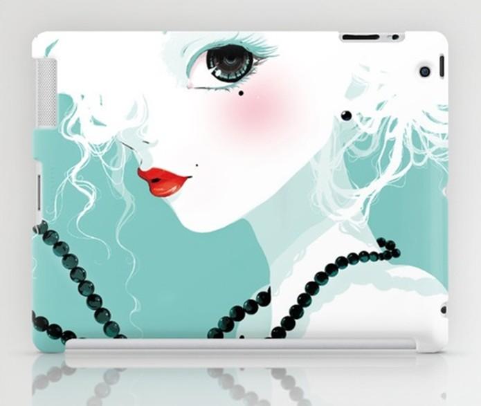 Capa para iPad 4 com desenho de Ludovic Jacqz (Foto: Divulgação/Society6)