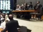 Gravação de Jucá provoca obstrução e bate-boca na sessão da Câmara