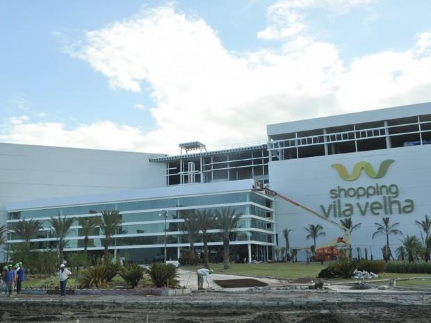 Shopping Vila Velha vai sre inaugurado nesta quinta-feira (21) (Foto  0bffa02781561