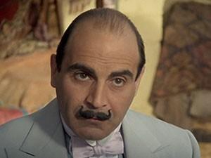 O detetive Hercule Poirot interpretado pelo ator David Suchet (Foto: Creative Commons/Peeperman)