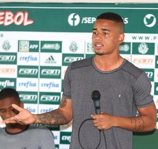 Gabriel Jesus Palmeiras (Foto: Fabio Menotti/Ag. Palmeiras/Divulgação)