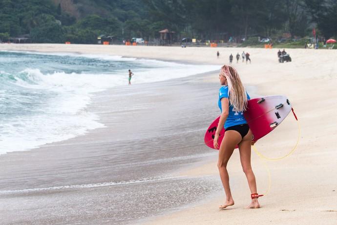 Laura Enever - Rio Pro Grumari (Foto: Rafael Moura)