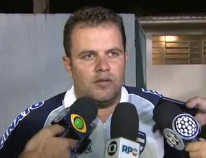 Rafael Andrade, técnico do Nacional-PR (Foto: Reprodução/RPC)