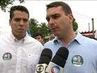 Bolsonaro promete linha de ônibus ligando Sepetiba ao Centro do Rio