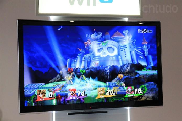 Super Smash Bros pode ser testado na E3 2014 (Foto: Isadora Díaz/ TechTudo)