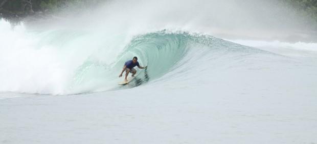 20 anos depois, Teco Padaratz esquece de comemorar título mundial de surfe (Foto: divulgação)