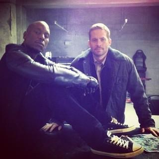 Tyrese Gibson e Paul Walker (Foto: Instagram/ Reprodução)