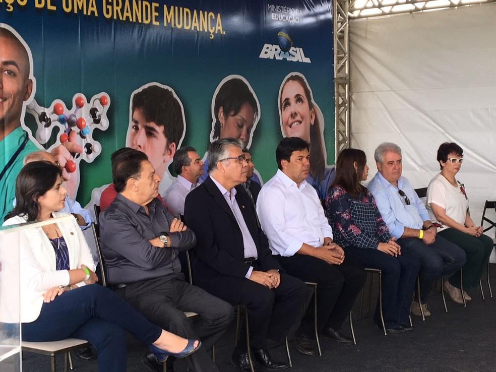 Mendonça Filho esteve em Caruaru nesta quinta-feira (22)  (Foto: Divulgação/Assessoria )
