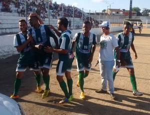 Miguelense volta à elite do futebol alagoano (Foto: Leonardo Freire/GloboEsporte.com)