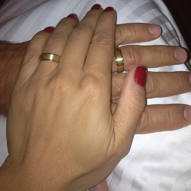 Nívea Stelmann e o namorado, Marcus Rocha (Foto: Instagram/ Reprodução)