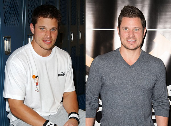 NICK LACHEY (2003 e 2016) (Foto: Getty Images)