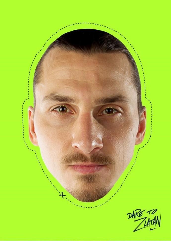 Máscara Ibrahimovic