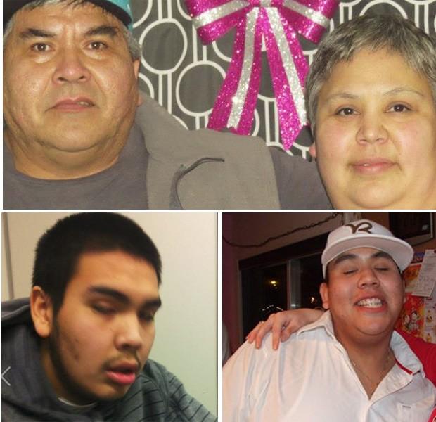 'Família do crime' foi presa após policia encontrar drogas e arma na casa onde moravam (Foto: Reprodução)