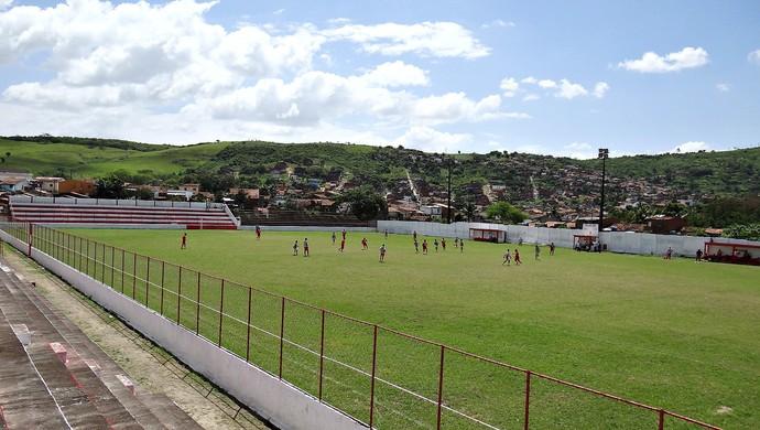Estádio José Vareda Centro Limoeirense (Foto: Daniel Gomes)