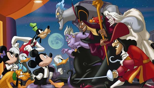 Mickey e sua turma vão ter que enfrentar os vilões mais perigosos da Disney (Foto: Divulgação/Reprodução)