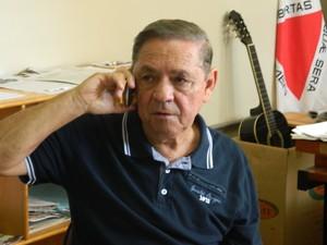 Diretor Geral do presídio Adão dos Anjos. (Foto: Kaleo Martins / G1)