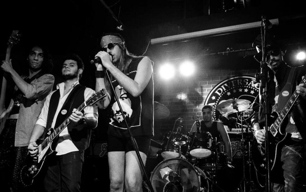 Banda Appetite for Illusion homenageia o Guns n' Roses em Salvador (Foto: Divulgação)