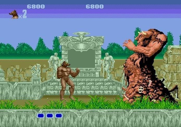 Altered Beast tinha influências de mitologia em sua história (Foto: Reprodução/Dario Coutinho)