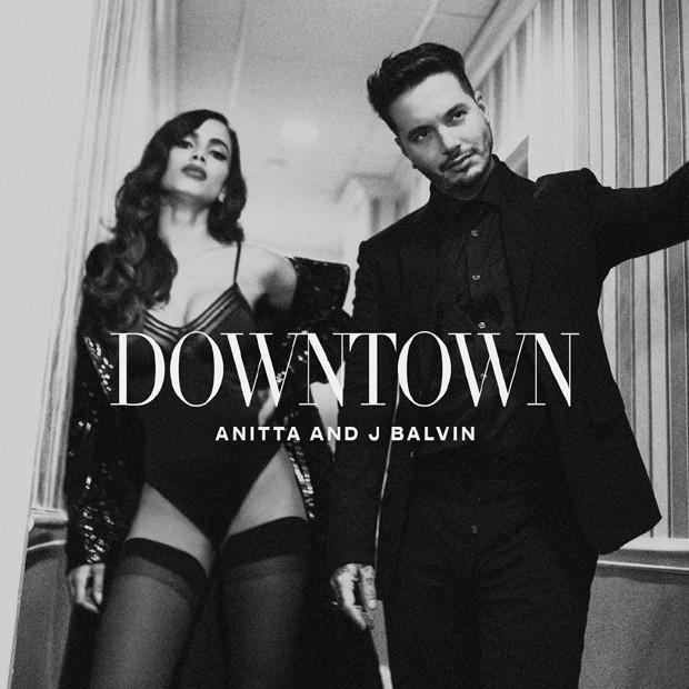 Capa do single Downtown de Anitta (Foto: Reprodução/Instagram)