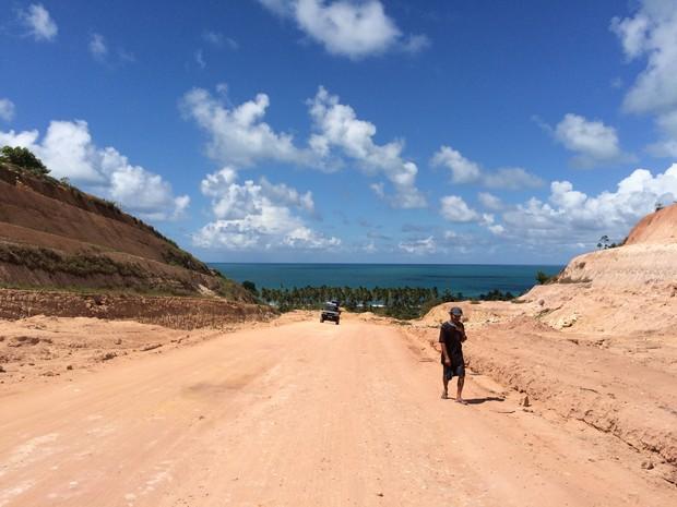 Ecovia vai ligar o Benedito Bentes à Praia de Guaxuma. (Foto: Carolina Sanches/G1)