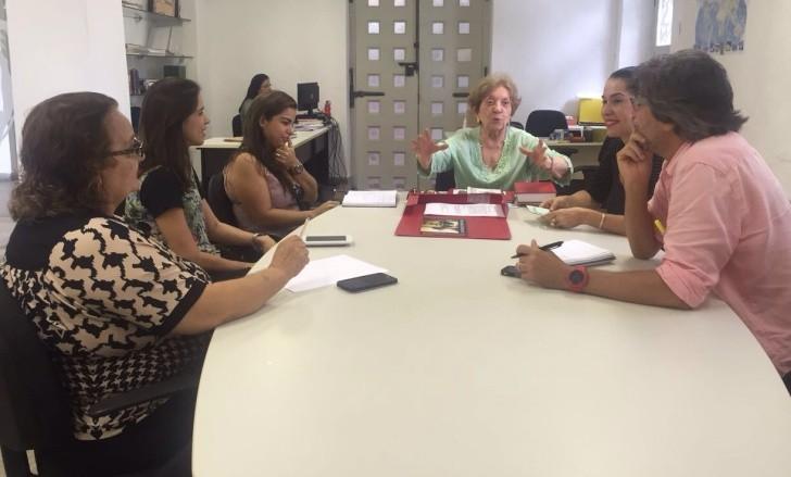 Marieta Borges reunião Iphan