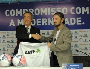 federação pernambucana de futebol cufa (Foto: Elton de Castro)