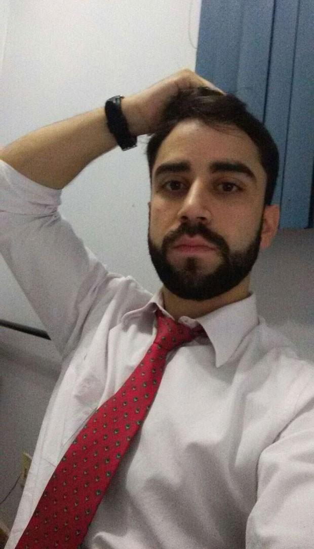 Olemar Santiago, irmão de Letícia Santiago (Foto: Reprodução)