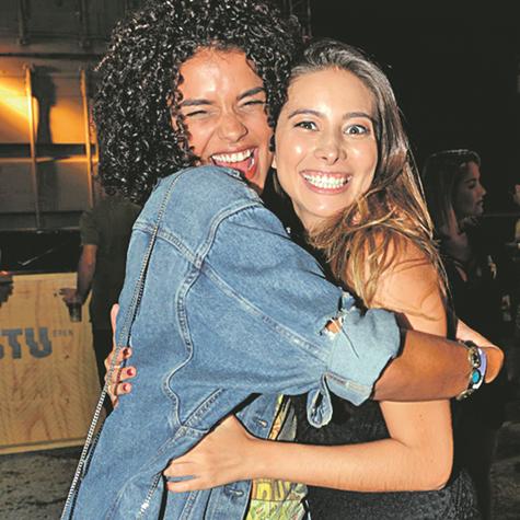Kizi Vaz e Marcela Monteiro (Foto: Cristina Granato)