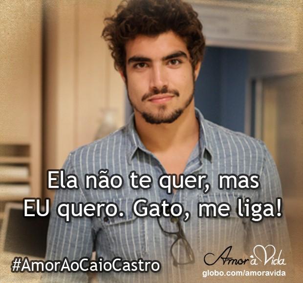 Eu quero o Dr. Michel (Foto: Amor à Vida / TV Globo)