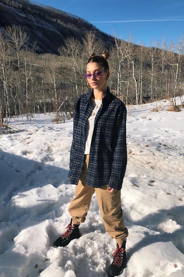 Camila Morrone em Aspen (Foto: Instagram/Reprodução)