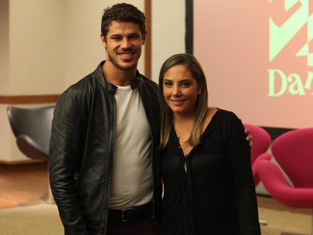 José Loreto e Heloísa Périssé fazem casal em Segunda Dama (Foto: Pedro Curi / TV Globo)