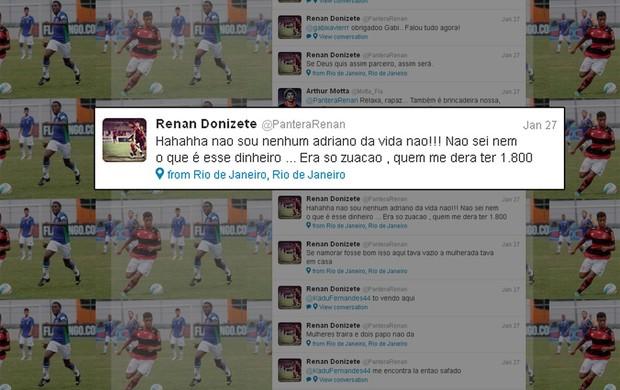 Twitter do Panterinha, filho do Donizete Pantera Adriano (Foto: Reprodução / Twitter)