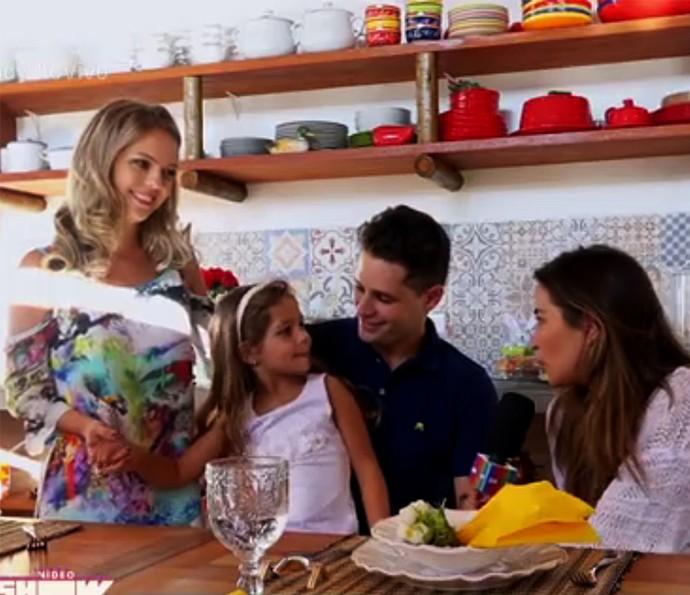 Pedro Leonardo conta que sua recuperação se deve à filha (Foto: Vídeo Show / Gshow)