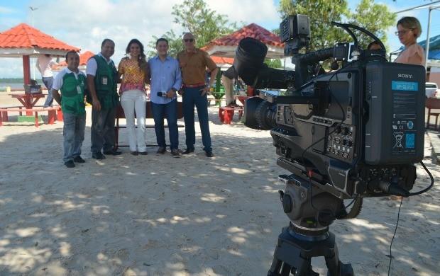 Amazônia Revista será exibido sábado (4) após Amapá TV (Foto: Jorge Abreu/Rede Amazônia)