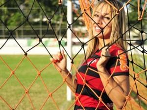 Quadro de saúde da modelo Cris Lopes é estável (Foto: Divulgação/Site Cris Lopes Modelo)
