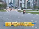 Grande Florianópolis tem paralisação de ônibus na madrugada desta quinta