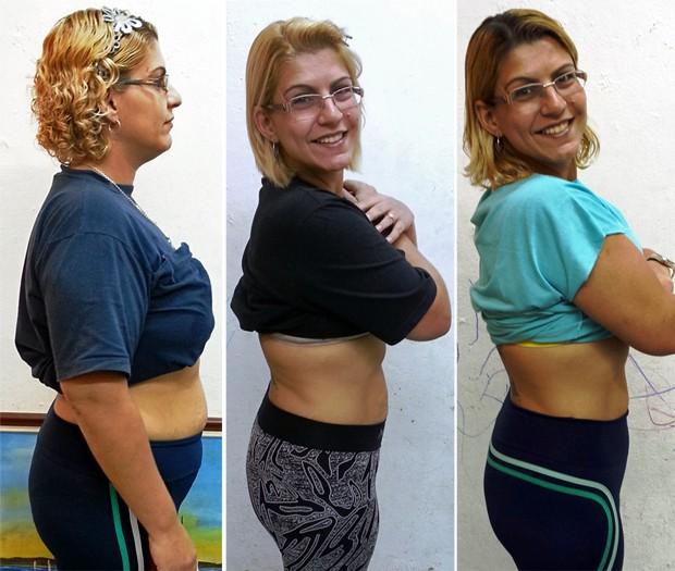 Jocilene Melo fez a dieta dos pontos e atividades físicas para emagrecer (Foto: Arquivo pessoal/Jocilene Melo)