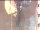 Homem é resgatado em prédio na capital paulista