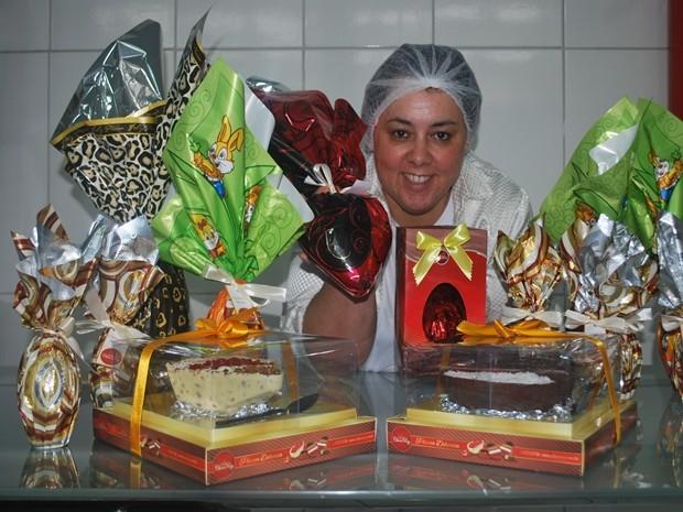 Patrícia Almeida deu origem ao 'Bolovo' (Foto: Maria Eliza Rosa/ G1)