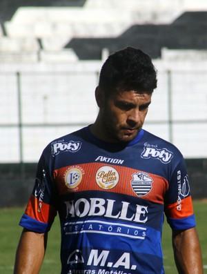 Marcinho Beija-Flor, atacante do Comercial (Foto: Cleber Akamine)