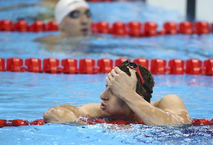 Ucraniano Maksym Krypa 400m livre Paralimpíada Rio 2016  (Foto: Reuters)