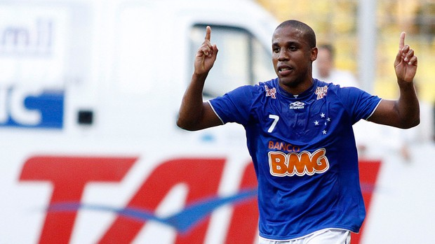 Borges gol Cruzeiro (Foto: Ramon Bitencourt / Vipcomm)