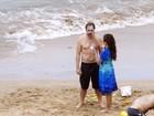 Javier Bardem curte férias em família com Penélope Cruz e os filhos