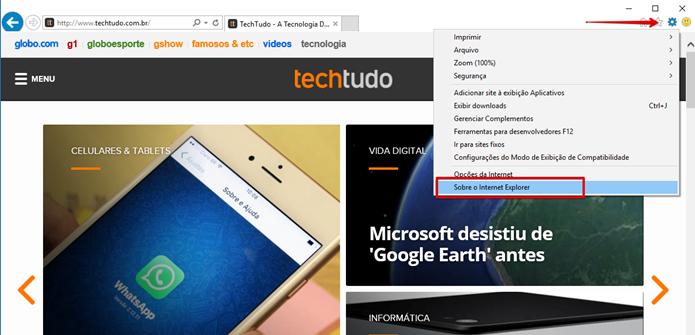Uma outra maneira de acessar o menu Ajuda (Foto: Felipe Alencar/TechTudo)