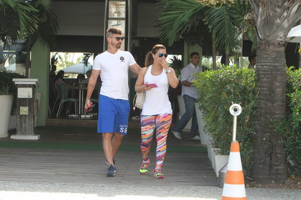 Radamés e Viviane Araujo (Foto: Delson Silva/AgNews)