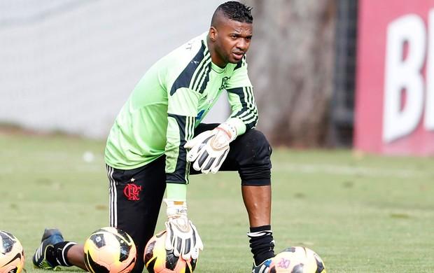 Felipe treino do Flamengo (Foto: Alexandre Cassiano / Agência O Globo)
