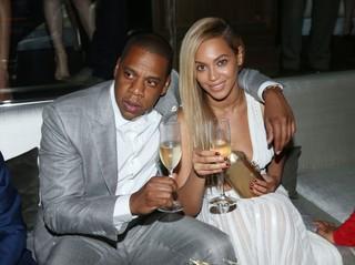 Jay-Z e Beyoncé em boate em Nova York, nos Estados Unidos (Foto: Johnny Nunez/ Getty Images)