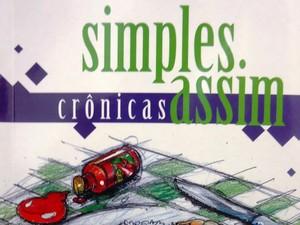 Detalhe da capa de Simples Assim, de Julieta de Souza (Foto: Divulgação)